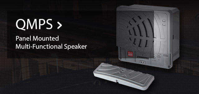 Panel Mounted Multi-Functional Speaker QMPS